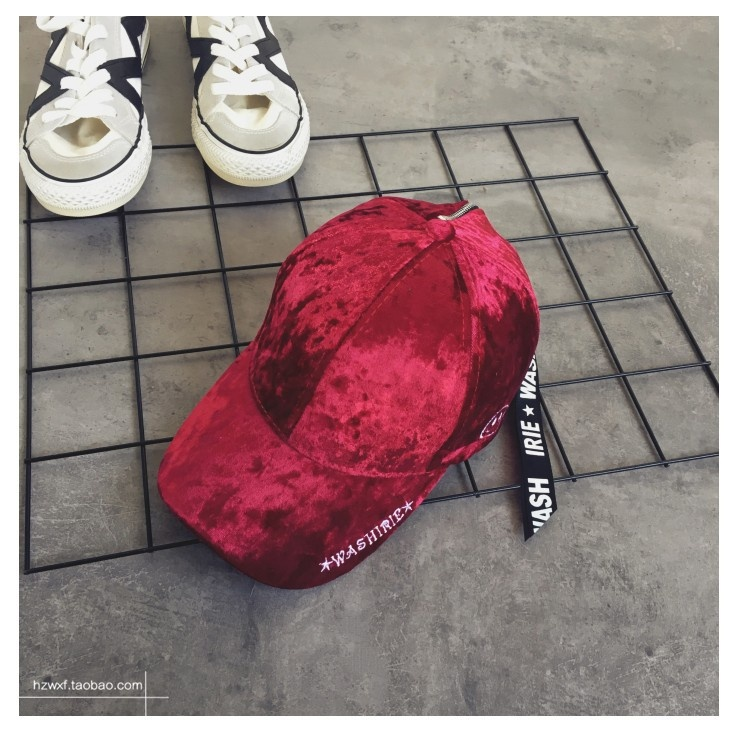 2019 High Quality Velour Embroidery Velvet Designs With Long Strap Smile Face Letter Hip Hop Baseball <strong>Cap</strong>