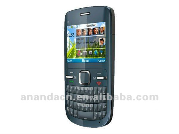 C3 Quad-band GSM mobile phone with WIFI and Full QWERTY keyboard Bluetooth Camera
