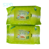 Soft pack perfume OEM manufacturer organic baby oil wet Wipes organic dry wipe