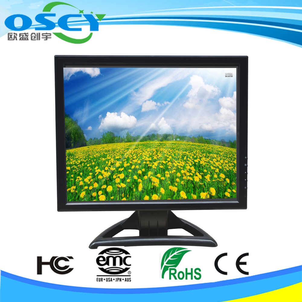 10, 12, 15, 17 inch lcd monitor smart led tv with touch screen
