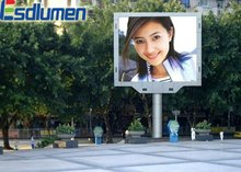 2012 hot sale Outdoor full color advertising PH12mm projector screen for led projector