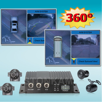 universal 360 degree bird view car monitoring system for truck