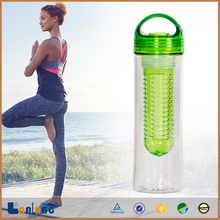Sports Water Bottle with Ionizing Alkaline Water Filter