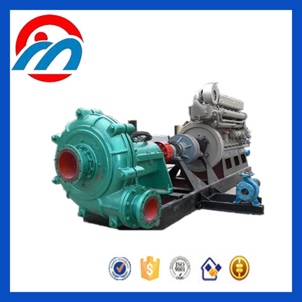 China sea water sand suck and mud pump machine