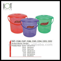 Large Colorful Round Plastic Tubs Price Wholesale