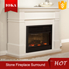 indoor marble freestanding fireplace mantel