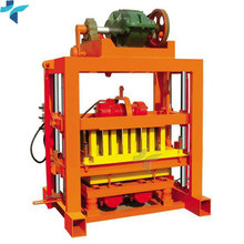 China Supplier Small Business Semi Automatic Laying Vibration Hollow Concrete Cement Block Forming Making Machine