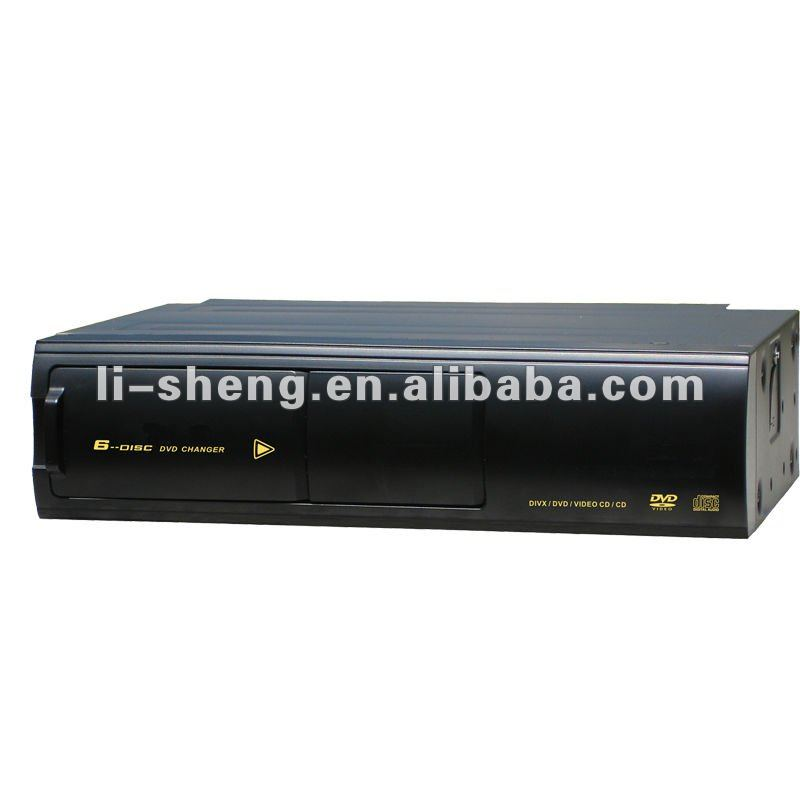 All region car 6 Disc DVD VCD CD MP3 changer