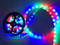DC12V 5mm 3528 RGB LED Strip,3528 Addressable led strip