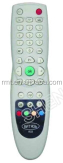 good quality infrared tv dvb satellite receiver remote control BNTR39 RC5 for Russian market