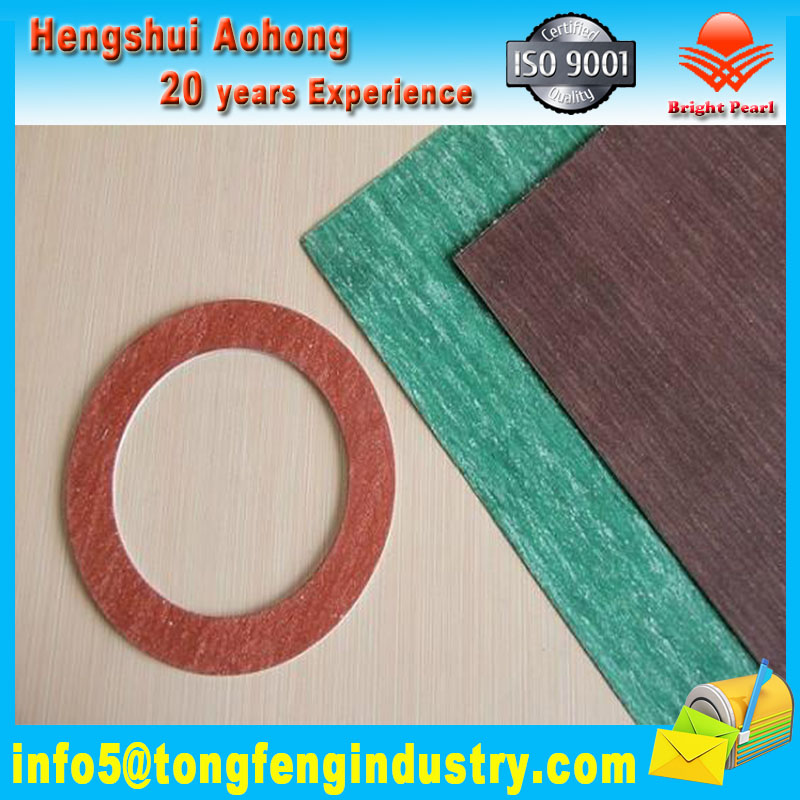 Sealing Gasket Compressed non Asbestos Fiber Jointing Sheet