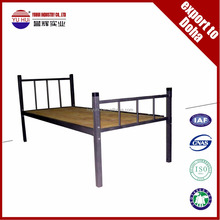 cheap metal single cot bed / single bed