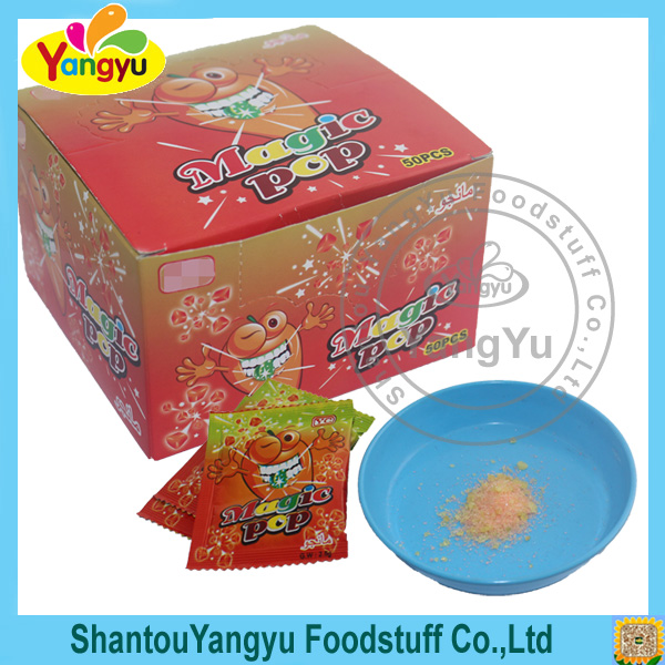 Hot sell good quality and fashion design sour popping candy