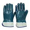 SRSAFETY high quality nitrile coated washable oil & gas industry work glove