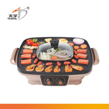 commercial grill sandwich maker with grill pan