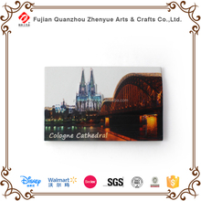2015 popular polyresin customized fridge magnet for tourists