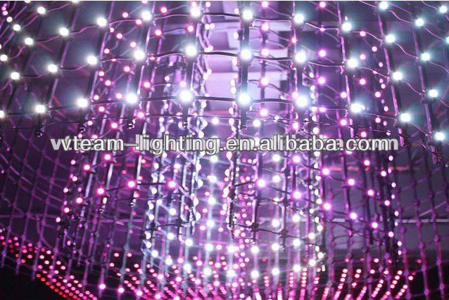 Vteam Flxi soft/transparent LED screen indoor/outdoor ceiling decoration