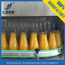 Full Automatic Pet Glass Bottle Fruit Orange Concentrated Juice Hot Filling Production Machine/Hot Fruit Juice Production line