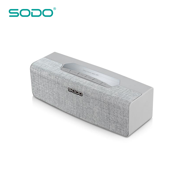 Outdoor Portable Wireless Fabric Speakers Audio Player for Mobile phone MP3 MP4 Mini Bluetooth speaker