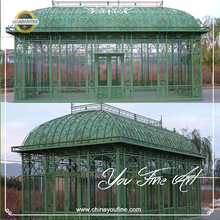 Outdoor Garden Use Wrought Iron Gazebos for sale