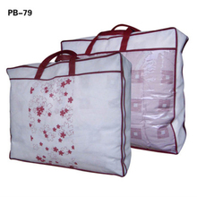 plastic PVC quilt carrier packaging bag