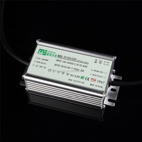 50w 1500ma constant current led driver waterproof with ce rohs saa ctick tuv