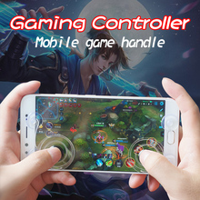 Dual analog Mini screen fling joystick mobile game joystick for touch screen, mobile game controller for android for iphone