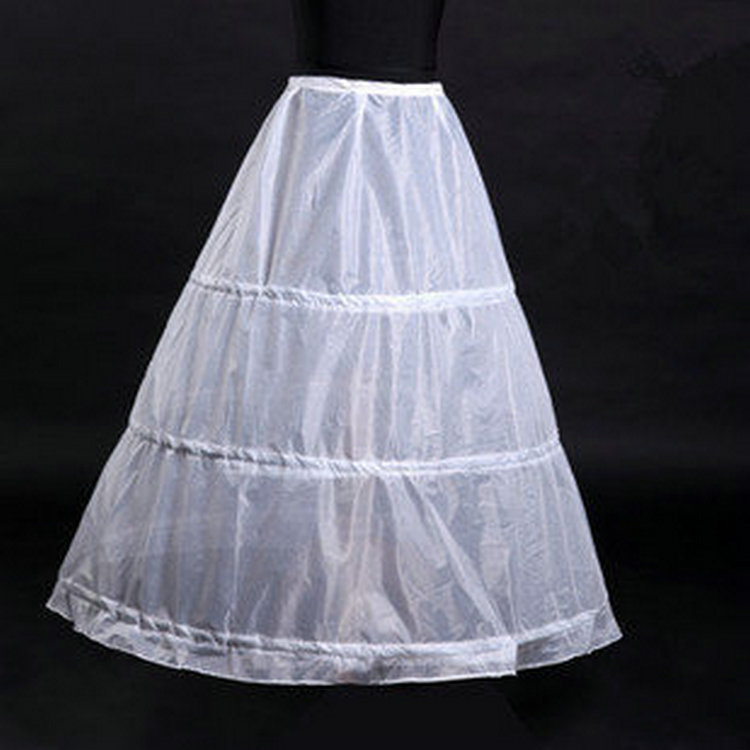 BV04 Bridal Ball Gown Petticoat White 6 Hoops Underskirt Bridal Accessories Hot Sale For Wedding Dresses