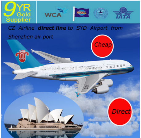 Excellent Air Freight Air cargo shipping company China to Australia Sydney