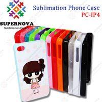 Sublimation Phone Case for iPhone 4/4s with Aluminum Insert