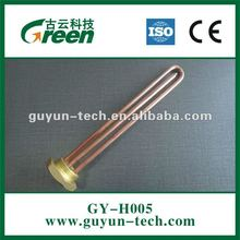 GY-H005 Straight heating element for water heater Available in Copper, SS304, SS 310, SS316, SS321, Inconel & Incolloy sheath