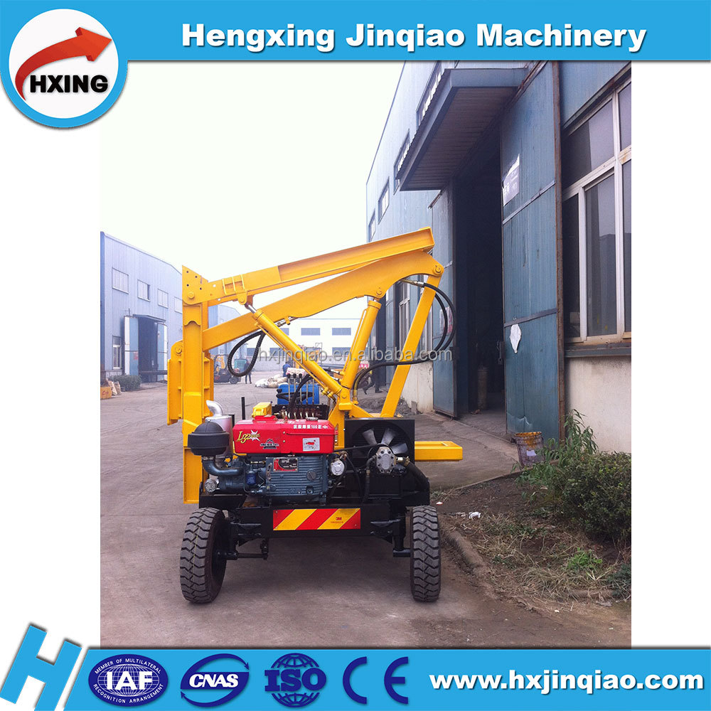 Hydraulic sheet injection piling machine Pile Driver