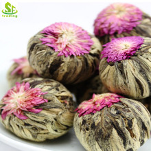 Chinese Organic Blooming Tea Ball Healthy flower tea slimming tea