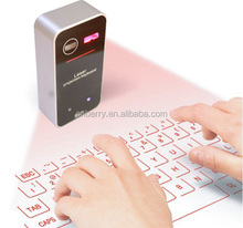 Mini Wireless Keyboard Laser Bluetooth Keyboard Wireless Virtual Red Laser Keyboard kb560