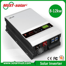 New Energy Saving Mini Projects Mono PV Panels Off Grid AGS and BTS AC DC Solar Inverter