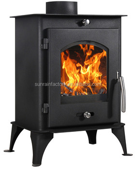 colled-roll steel plate wood burning stove(DL007)