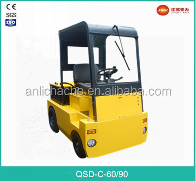 8000kg 4-Wheel Electric Tow Tractor with Factory Price