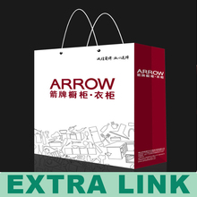 2014 fashion paper shopping bag High quality Packaging gift bag twisted paper handle bag
