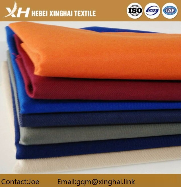 High quality C100 twill /drill solid dye woven fabric for pants,uniform fabric