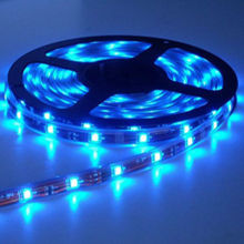 led strips 5050 SMD blue waterproof for holiday with CE RoHS FCC certificates