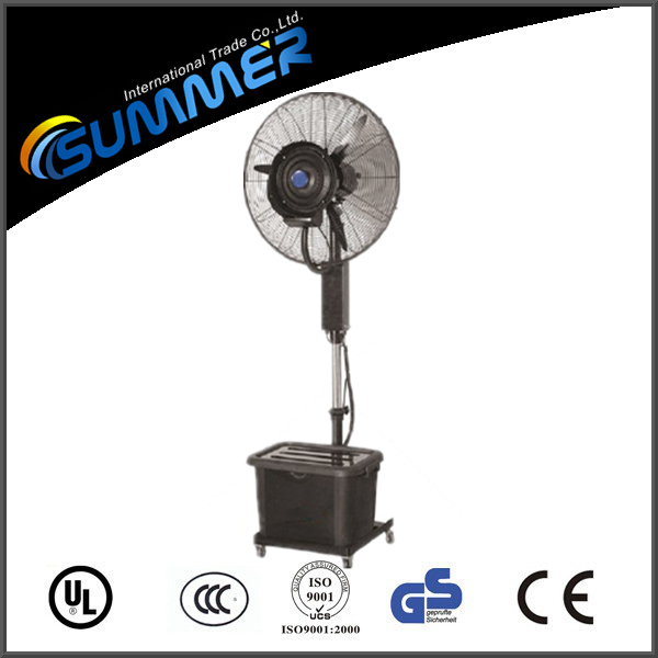 Factory sale cheap custom indoor cooling fan electric power water mist fan
