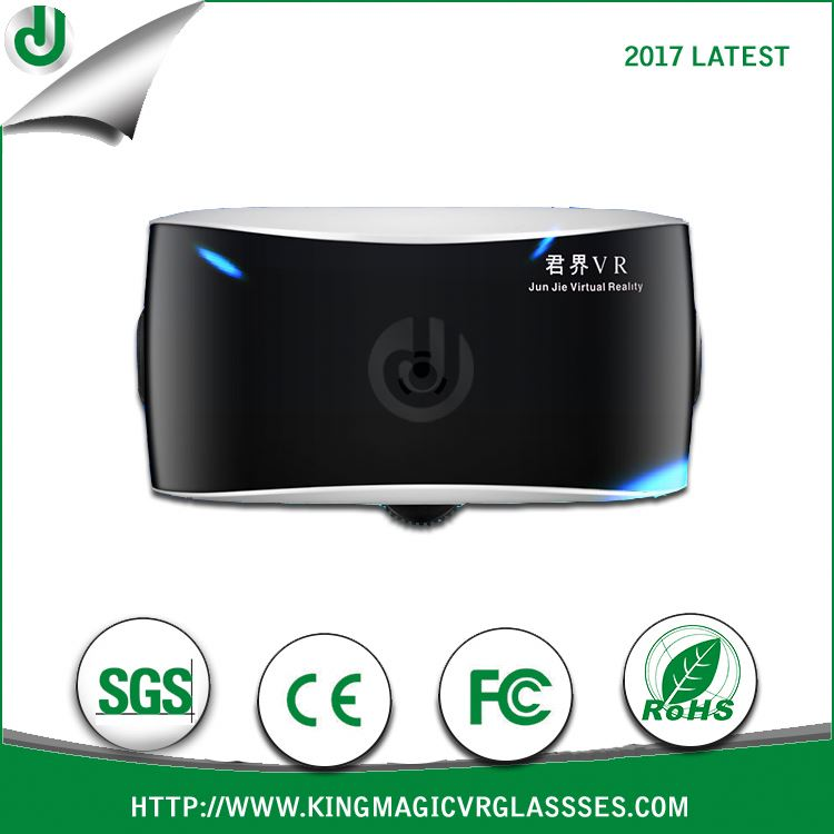 own five patented technology and Comfortable wearing black vr box 2.0 virtual reality glasses 3d vr headsets