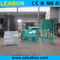 High Efficiency Hydraulic Sawdust Briquette Press Machine