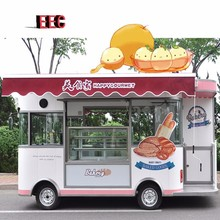Bakery Truck Fast Breakfast Food Carts Mobile Kitchen Trailer
