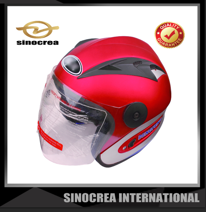 HALF FACE SUPER DESIGN MOTOR CYCLE HELMET WITH OEM