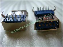 wholesale USB 2.0 Female USB Socket Right Angle PCB Connector