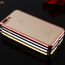 New Fashion design Product Wholesale Clear Customized OEM/ODM Transparent TPU Phone Case for Iphone 7