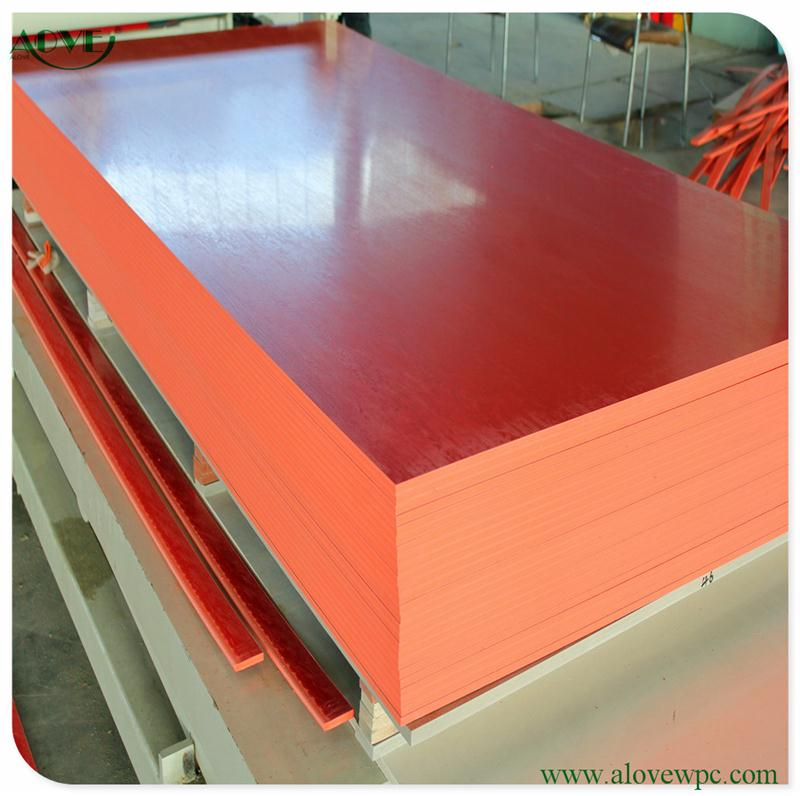 New Product WPC Wood Plastic Composite Foaming Plate/Board to Make Furniture /styrofoam blocks