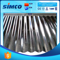 Wholesale Low Price High Quality corrugated steel roofing sheets for greenhouse