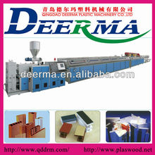 PVC WPC Profile Extrusion Line/Extruder /pvc photo frame making machine